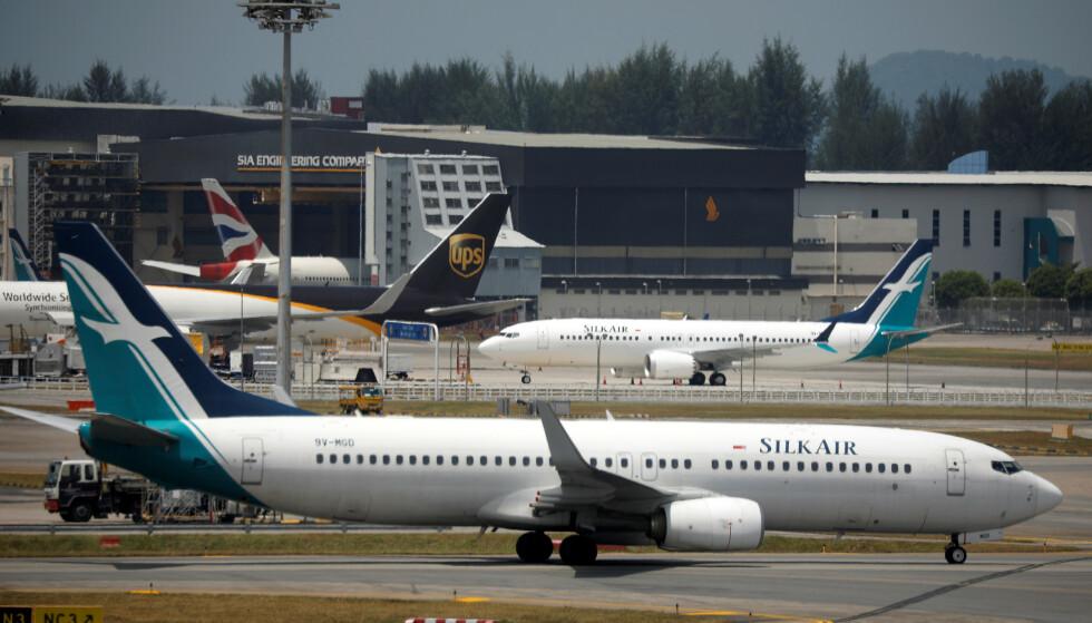 BOEING 737 MAX 8: Suspensjonen er midlertidig mens luftfartsmyndighetene i landet avventer flere opplysninger om årsaken til flystyrten søndag. Foto: REUTERS/Edgar Su.