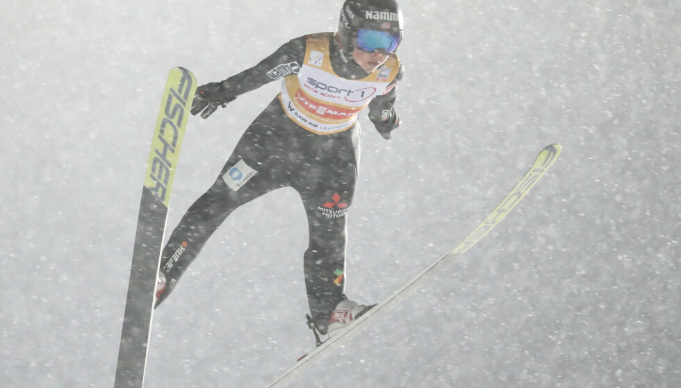Maren Lundby vant i Lysgårdsbakken. Foto: Geir Olsen / NTB scanpix
