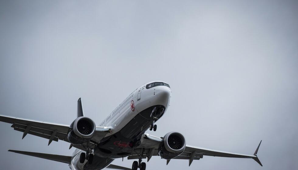 To piloter deler opplysninger om problemer de møtte da de fløy det omdiskuterte Boeing 737 MAX 8-flyet. Foto: Darryl Dyck / The Canadian Press via AP / NTB scanpix