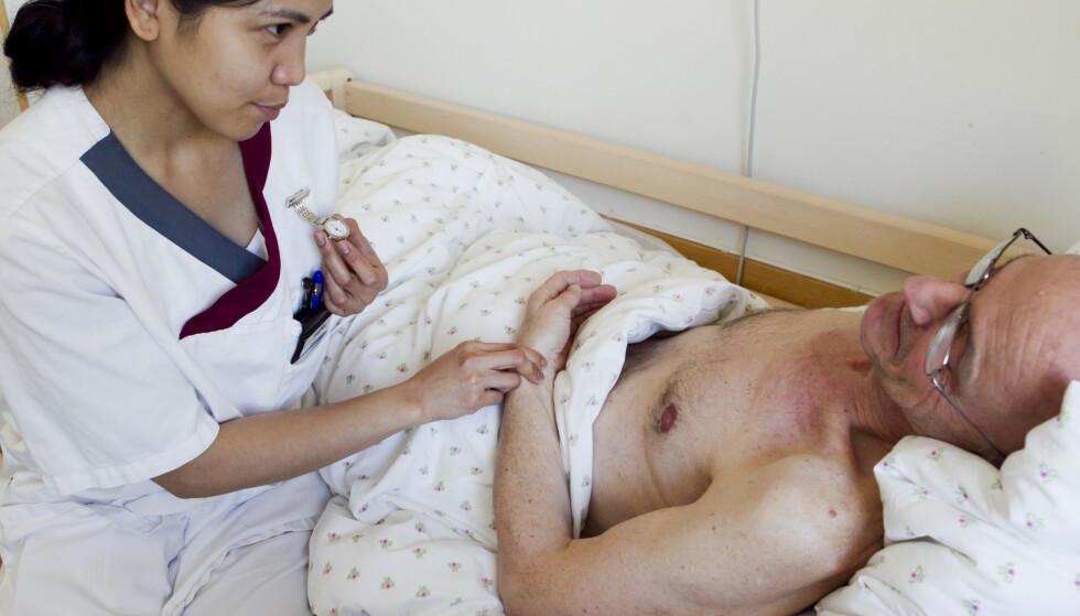 Nordmenns helseutgifter utgjorde 360 milliarder kroner i 2018. Foto: Heiko Junge / SCANPIX NB
