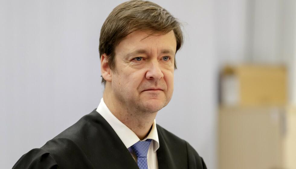 Advokat John Christian Elden mener PSTs siktelse er basert på indisier. PST vil ikke kommentere påstanden. Foto: Cornelius Poppe / NTB scanpix
