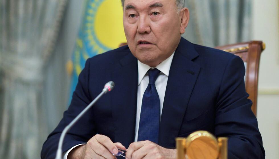 Kasakhstans hovedstad skifter navn til Nursultan, etter landets mangeårige leder Nursultan Nazarbajev. Foto: AP / NTB scanpix