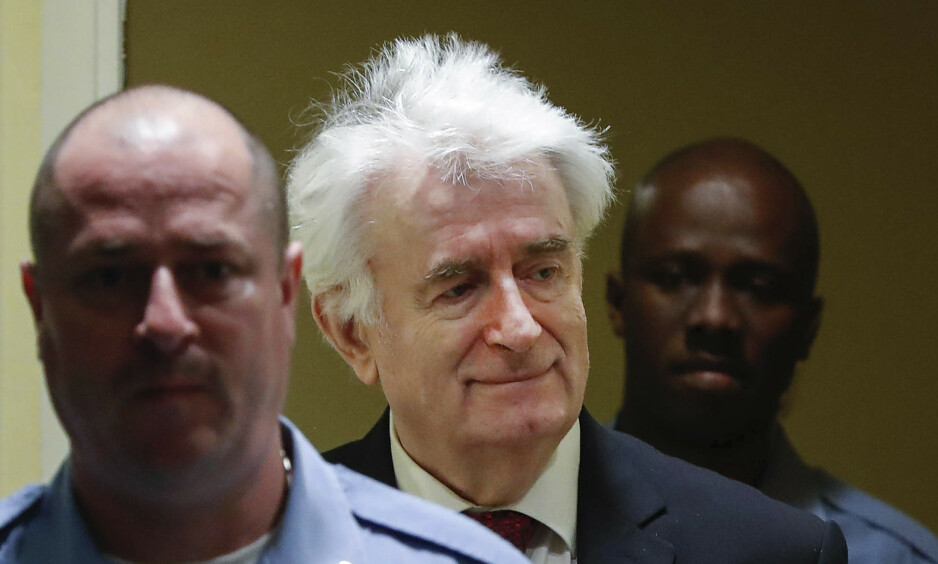 Radovan Karadzics ankesak avsluttes i dag. Foto: AP / NTB scanpix