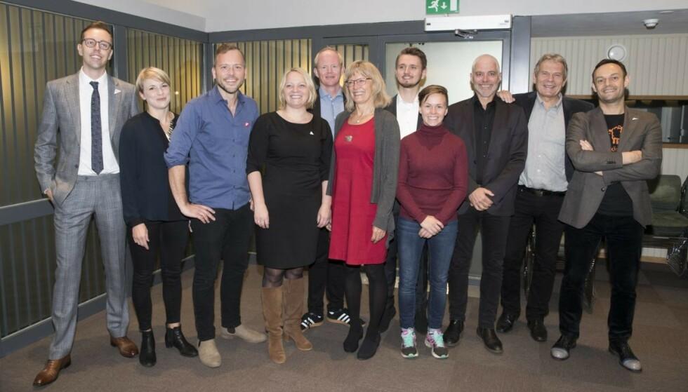 Det er helt feil at tre av fire SV-representanter aldri har jobbet, konkluderer Faktisk.no. Foto: Terje Pedersen / NTB scanpix
