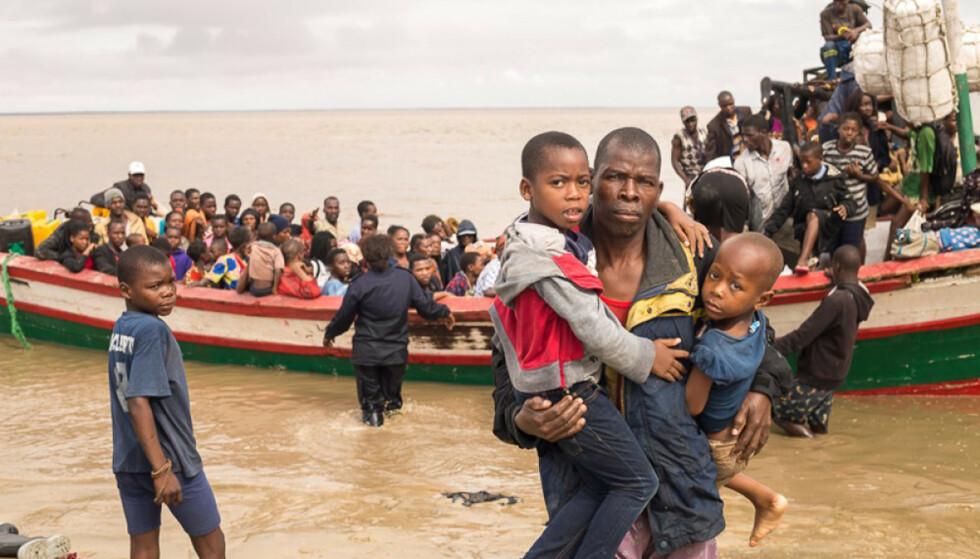 ETTER SYKLONEN: Det offisielle tallet på omkomne nærmer seg nå 300 i Mosambik. Foto: AP/NTB Scanpix.