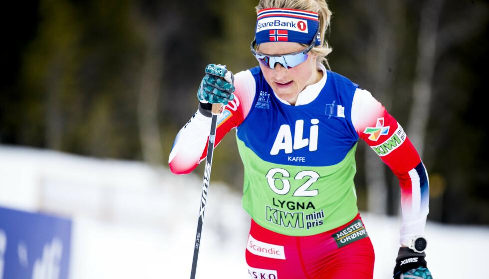 Therese Johaug var suveren på 30-kilometeren i NM lørdag. Foto: Terje Pedersen / NTB scanpix
