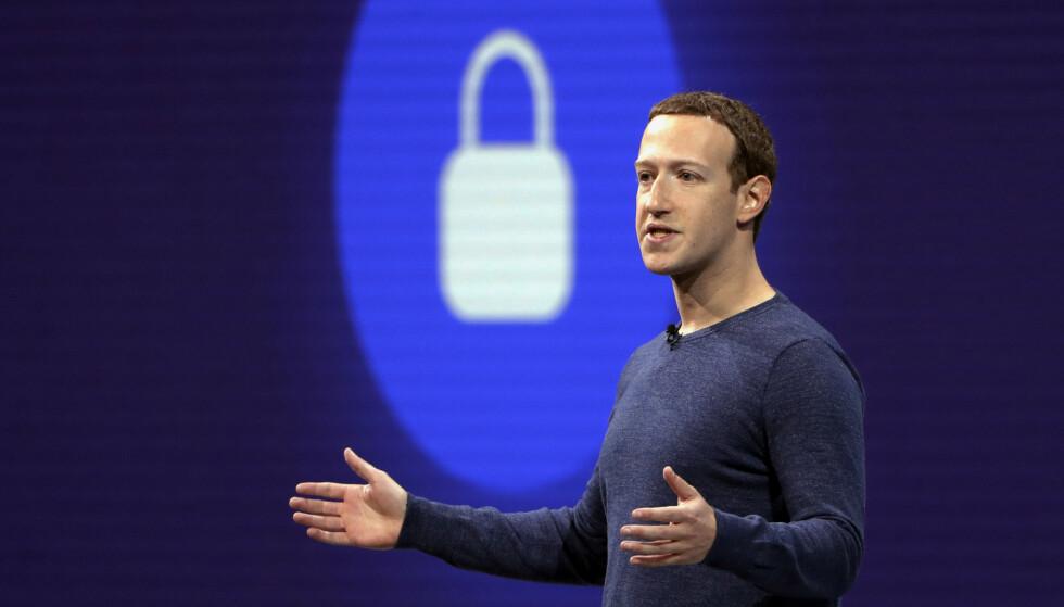 Zuckerberg ber myndighetene om hjelp. Foto: AP Photo/Marcio Jose Sanchez, File