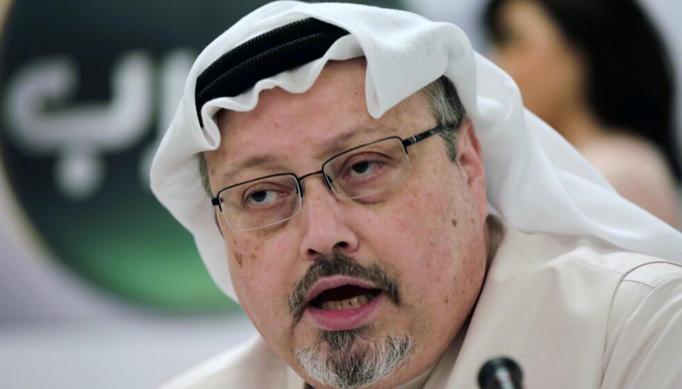 <strong>Den anerkjente journalisten Jamal Khashoggi måtte bøte med livet etter å ha kritisert kronprinsen i Saudi-Arabia (FOTO:</strong> AP Photo/Hasan Jamali).