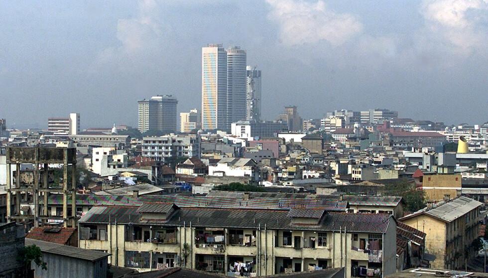 Fra Sri-Lankas hovedstad Colombo. Foto: NTB Scanpix