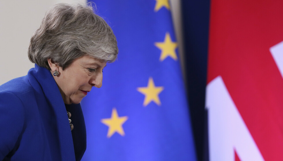 Theresa May og Storbritannia har fått utsatt brexit til 31 oktober. Foto: AP Photo/Francisco Seco / NTB scanpix