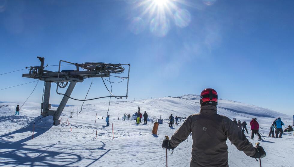 Strålende påskevær i Trysil på langfredag i fjor. Foto: Halvard Alvik, NTB scanpix