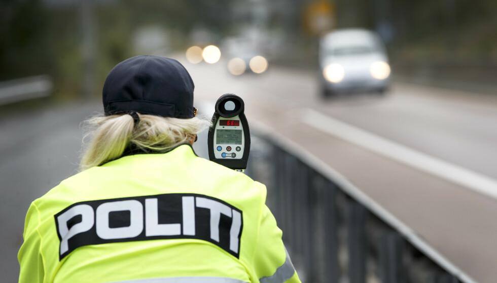 Over 500 bilister har blitt servert bøter og flere har mistet førerkortet i påskeutfarten. Foto: Gorm Kallestad / NTB scanpix