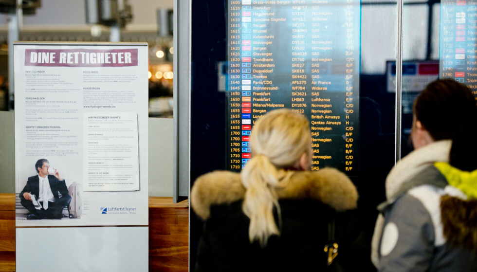 Det kan bli kaos i SAS-trafikken dersom pilotmeklingen ikke lykkes. Foto: Jon Olav Nesvold / NTB scanpix