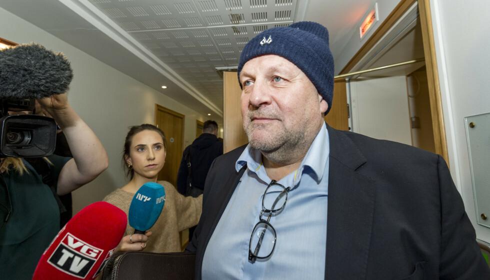 Styreleder i RBK, Ivar Koteng. Foto: Ned Alley / NTB scanpix