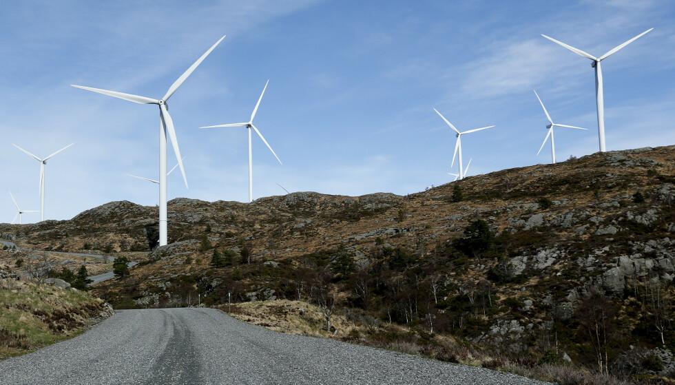 Sjefen i det tyske selskapet Stadtwerke München, som er medeier med Trønderenergi om vindkraftutbygging i Trøndelag, opplever hets. Illustrasjonsfoto: Jan Kåre Ness / NTB scanpix