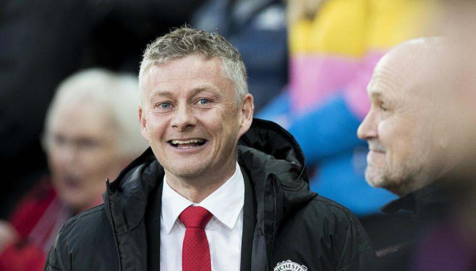 Ole Gunnar Solskjær fra Kristiansund er manager i Manchester United. Foto: Terje Pedersen / NTB scanpix