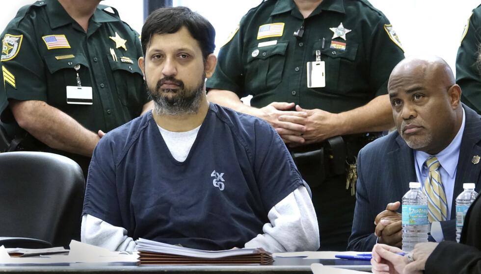 Nouman Raja er dømt til 25 års fengsel for å ha skutt og drept en svart mann i delstaten Florida. Foto: Lannis Waters / Palm Beach Post via AP / NTB scanpix
