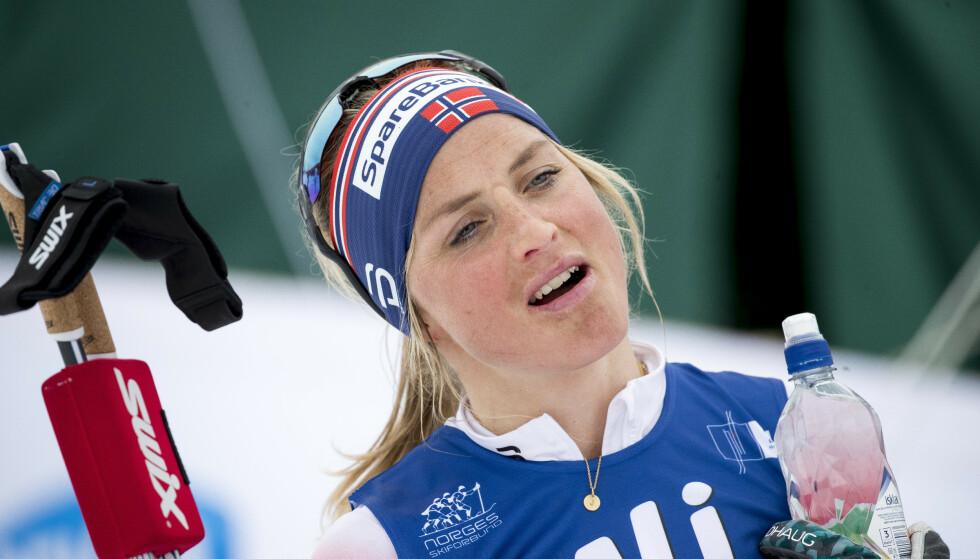 Therese Johaug, her fra ski-NM i mars, vant skarverennet i langrenn lørdag. Foto: Terje Pedersen / NTB scanpix