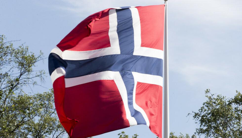 Været lover godt for 17.mai, særlig i Sør-Norge. Foto: Terje Pedersen / NTB scanpix
