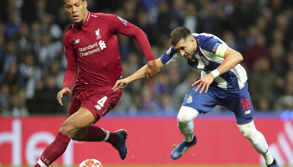 Liverpool-midtstopper Virgil van Dijk er kåret til årets spiller i Premier League. Foto: Luis Vieira / AP / NTB scanpix