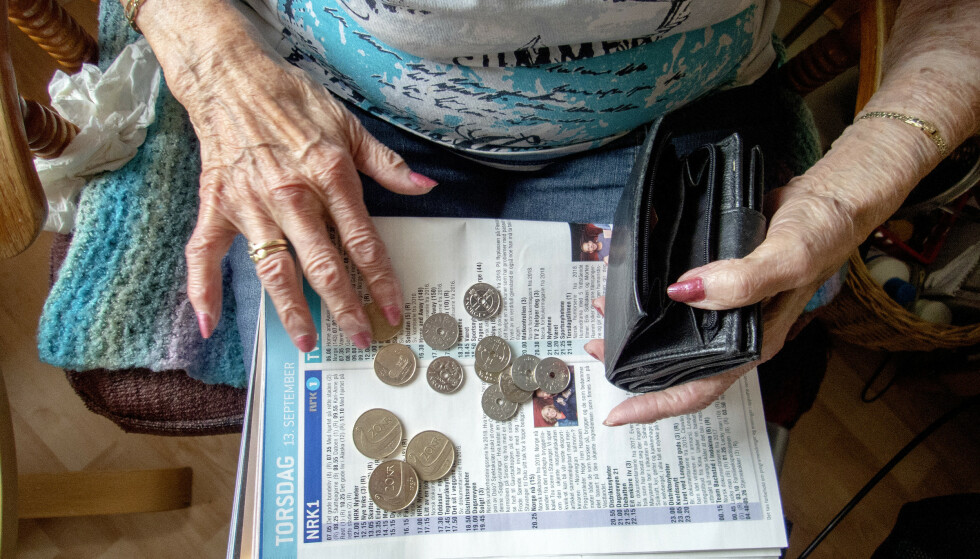 Ifølge forskning fra Folkehelseinstituttet lever personer på inntektstoppen lenger enn dem med lavest inntekt. Illustrasjonsfoto: Gorm Kallestad / NTB scanpix