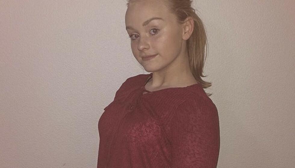 13 år gamle Sunniva Ødegård ble funnet drept ved Åvegen på Varhaug natt til mandag 30. juli i fjor. Foto: Privat / NTB scanpix