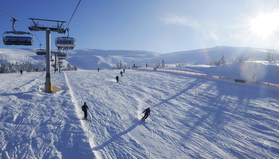 Skisenteret i Trysil. Hit kan turister snart komme med fly. Foto: Erik Johansen / NTB scanpix