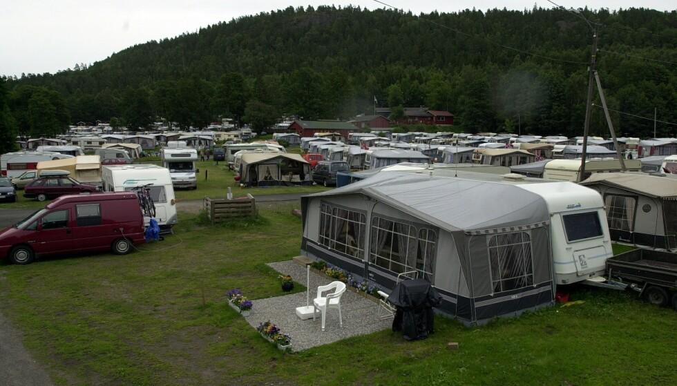 Regjeringen utsetter innføringen av nye sikkerhetsregler for campingplasser. Illustrasjonsfoto: Knut Fjeldstad / NTB scanpix