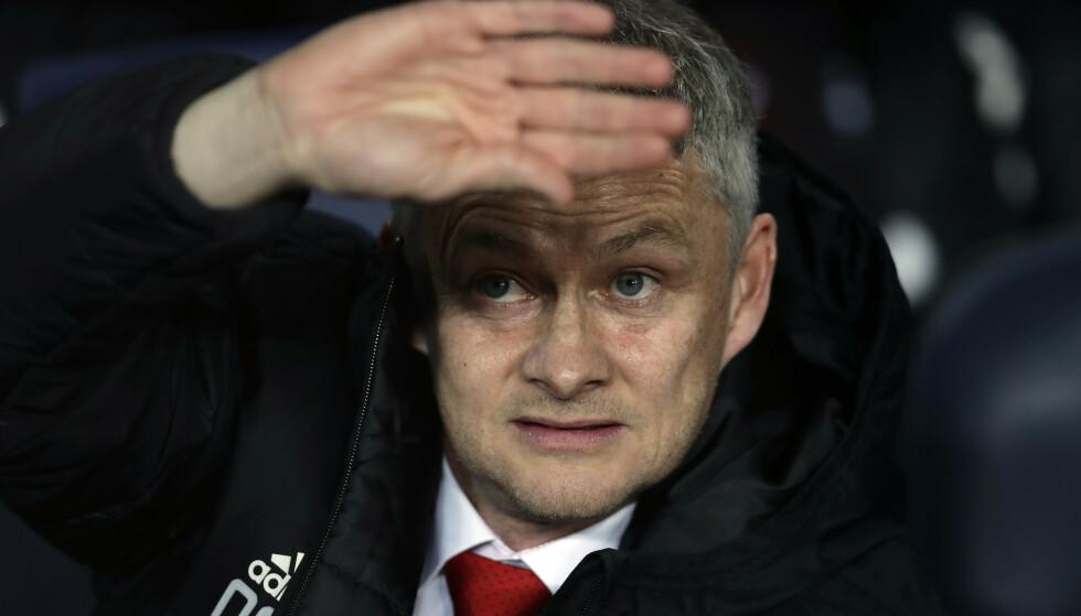 En skuffende sesongavslutning har ikke gått ut over interessen for å se Ole Gunnar Solskjærs Manchester United-lag spille på Old Trafford. Sesongbillettene ble utsolgt på rekordtid. Foto: Manu Fernandez / AP Photo / NTB scanpixtekst