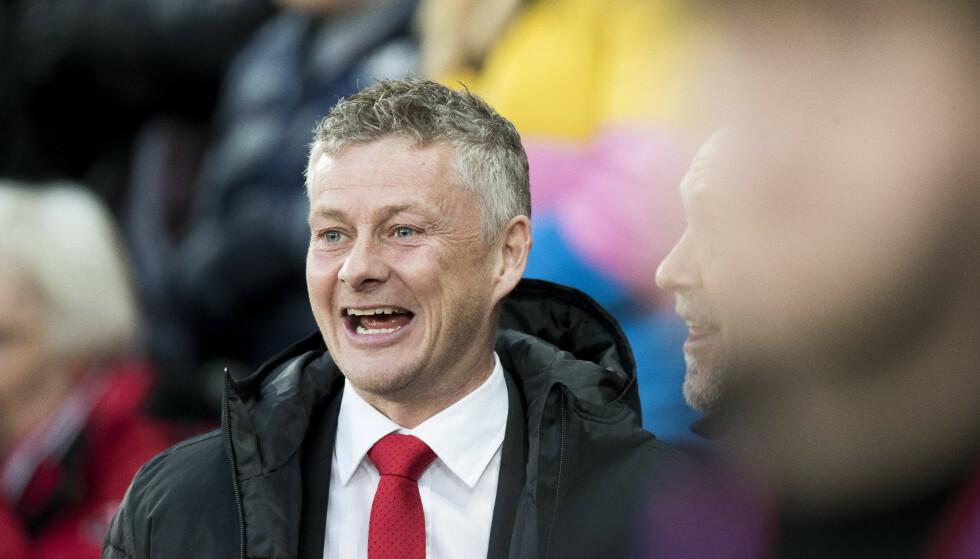 Ole Gunnar Solskjær og Manchester United kommer til Norge i sommer. Foto: Terje Pedersen / NTB scanpix.