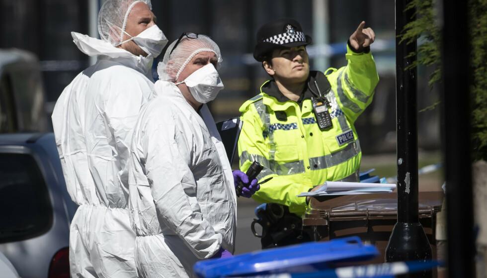 To personer er pågrepet etter at to barn er funnet døde i Storbritannia. Foto: NTB scanpix