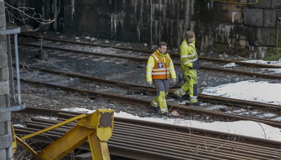 En gutt født i 2003 omkom, mens en jente og en gutt født samme år ble kritisk skadd etter at de tok seg inn i en togtunnel ved Filipstad i Oslo og kom i kontakt med en strømførende kilde. Foto: Heiko Junge / NTB scanpix