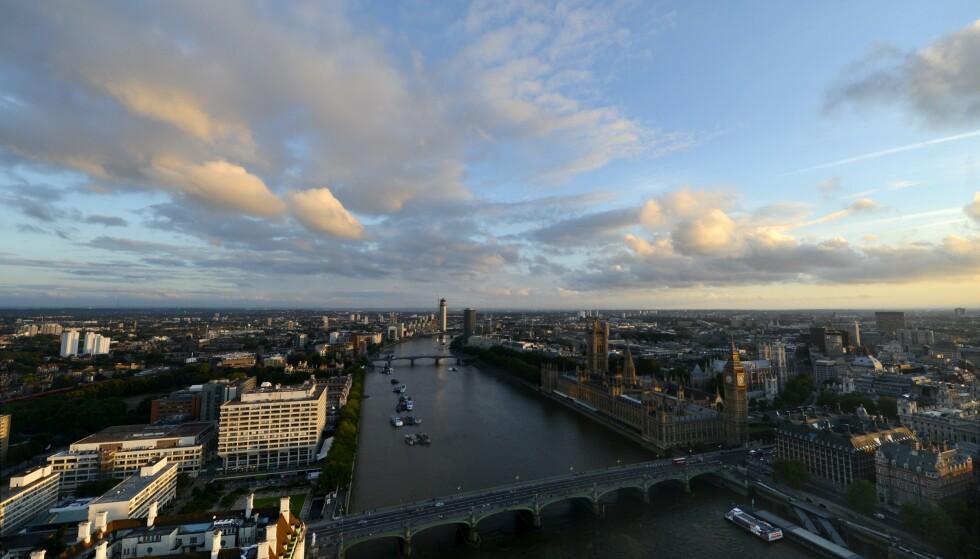 Themsen, som renner gjennom London, er en av de europeiske elvene hvor forskerne har funnet rester av antibiotika. Foto: Vesa Moilanen / AP / NTB scanpix