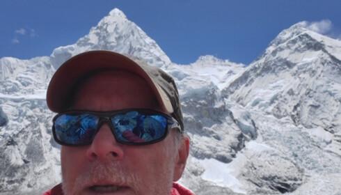 Christopher Kulish sin bror delte denne selfien av ham med media etter at han døde på Mount Everest.