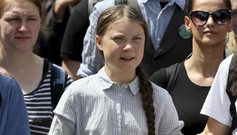 Den svenske klimaaktivisten Greta Thunberg avslutter nå grunnskolen. Hun velger å ta et sabbatsår før hun begynner på videregående. (Foto: AP / NTB scanpix).