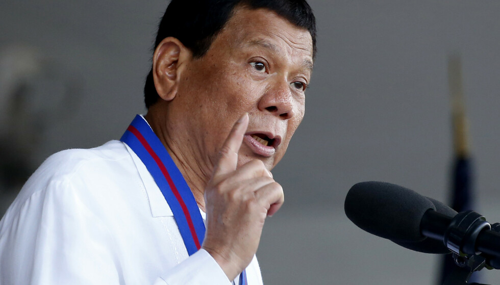 President Rodrigo Duterte sier at han «pleide å være homofil». Foto: Bullit Marquez / AP / NTB scanpix