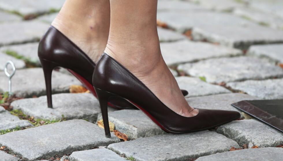 Japanske kvinner kjemper for å slippe å måtte bruke høyhælte sko på jobb. Illustrasjonsfoto: Foto: Lise Åserud / NTB scanpix
