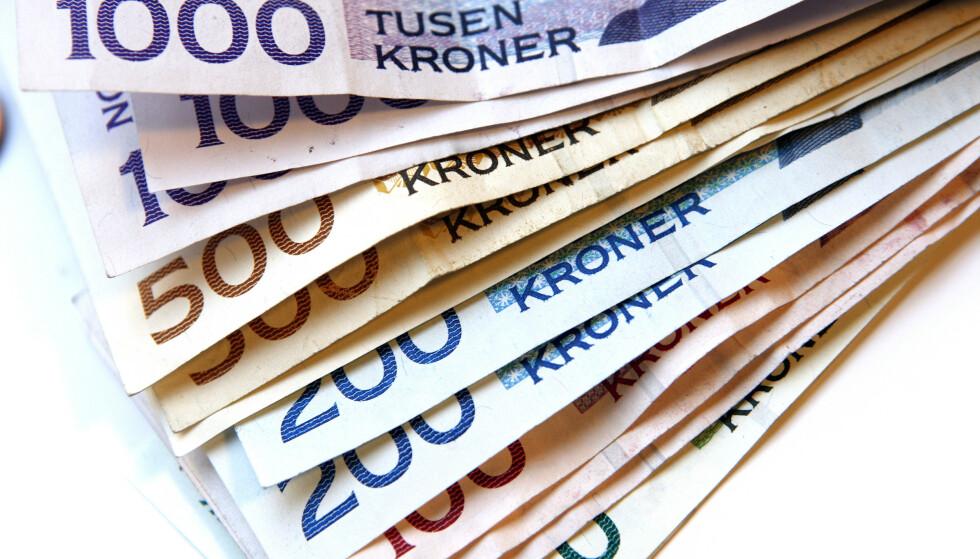 Nordmenn har 21 milliarder i forbrukslån. Og antallet lån øker. (Foto: Gorm Kallestad / SCANPIX .)