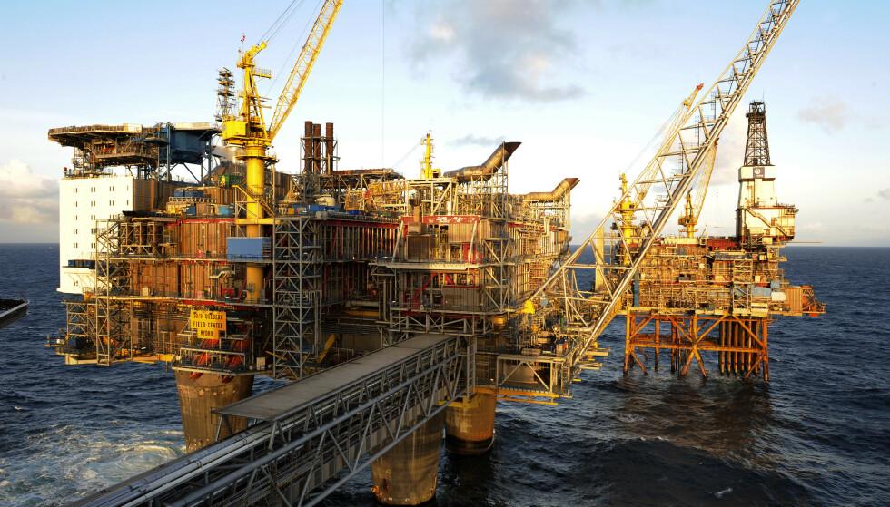 Oseberg er et olje- og gassfelt i norsk sektor av Nordsjøen. Illustrasjonsfoto: Marit Hommedal / NTB scanpix