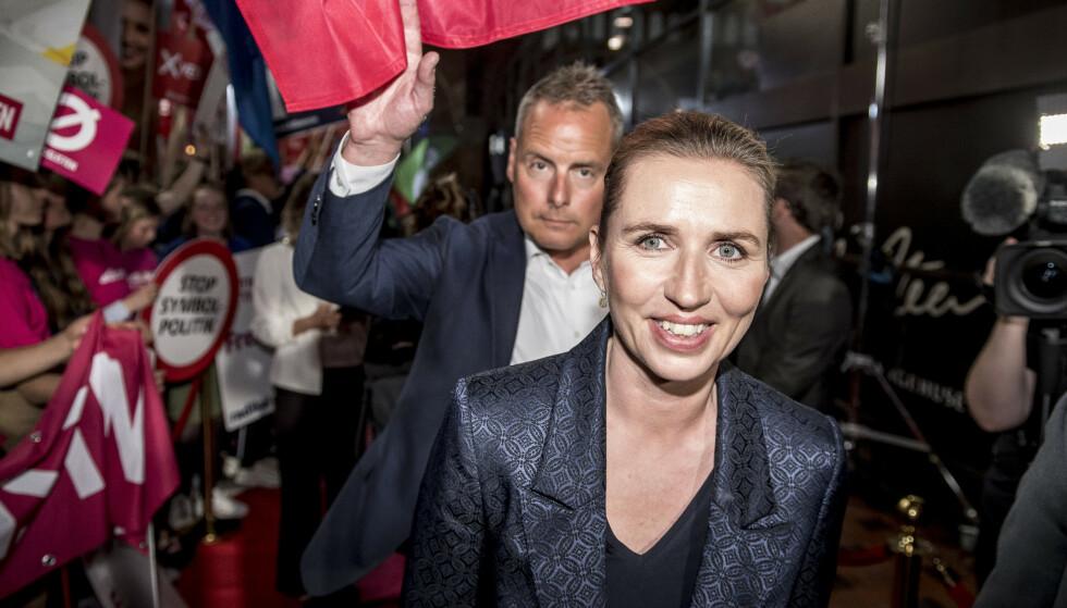 Mette Frederiksen fra Socialdemokratiet skal forsøke å finne en felles plattform sammen med sine samarbeidspartnerne. Foto: Mads Claus Rasmussen/Ritzau Scanpix / NTB Scanpix