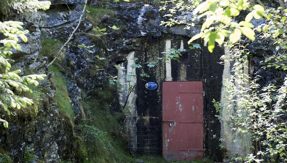 Det ble funnet avføring på taket av et høydebasseng på Øvre Kleppe i Askøy kommune i Hordaland onsdag kveld. Foto: Marit Hommedal / NTB scanpix