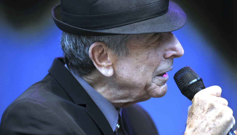 Leonard Cohen under jazzfestivalen i Molde i 2009. Foto: Vidar Ruud / NTB scanpix