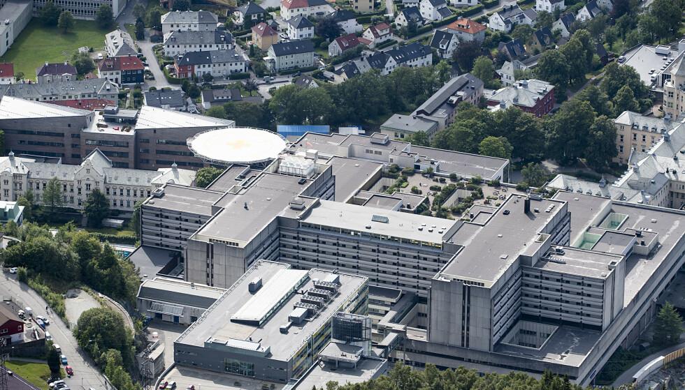 65 personer fra Askøy har vært innlagt på Haukeland universitetssjukehus etter at drikkevannet på Askøy ble forurenset av tarmbakterier. Foto: Marit Hommedal / NTB scanpix
