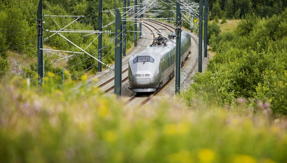 Bane Nor har benyttet nærmere 9 tonn glyfosat langs norske jernbanespor de siste tre årene. Foto: Fredrik Varfjell / NTB scanpix