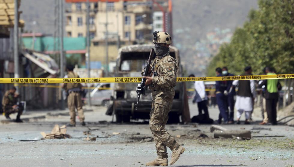 Hundrevis av sivile, de fleste av dem fra den sjiamuslimske minoriteten, er drept i terroraksjoner fra den ytterliggående islamistgruppa IS i Afghanistan de siste årene. Foto: AP / NTB scanpix