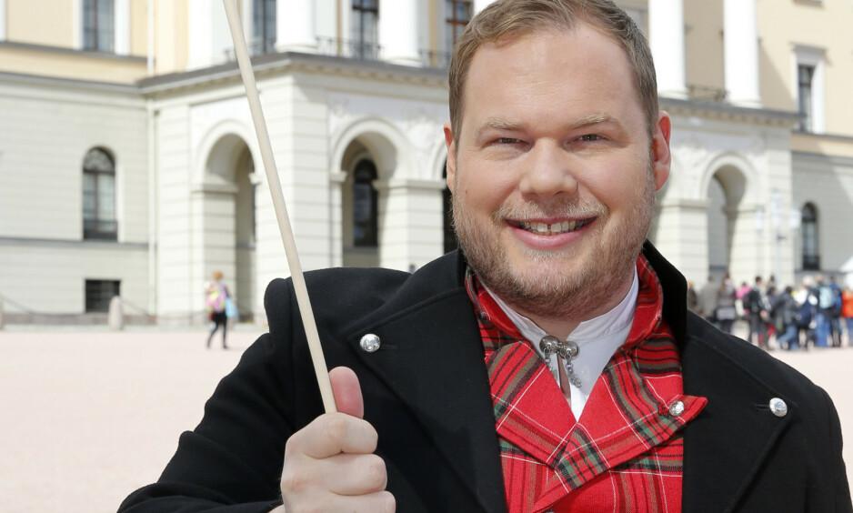 Programleder i «Norgesglasset», Pål Hovengen Plassen. (Foto: Cornelius Poppe / NTB scanpix)