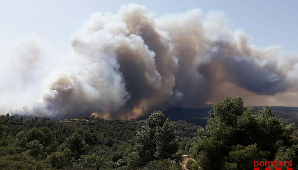 (Foto: Handout / Bombers Generalitat Catalunya / AFP /NTB scanpix)