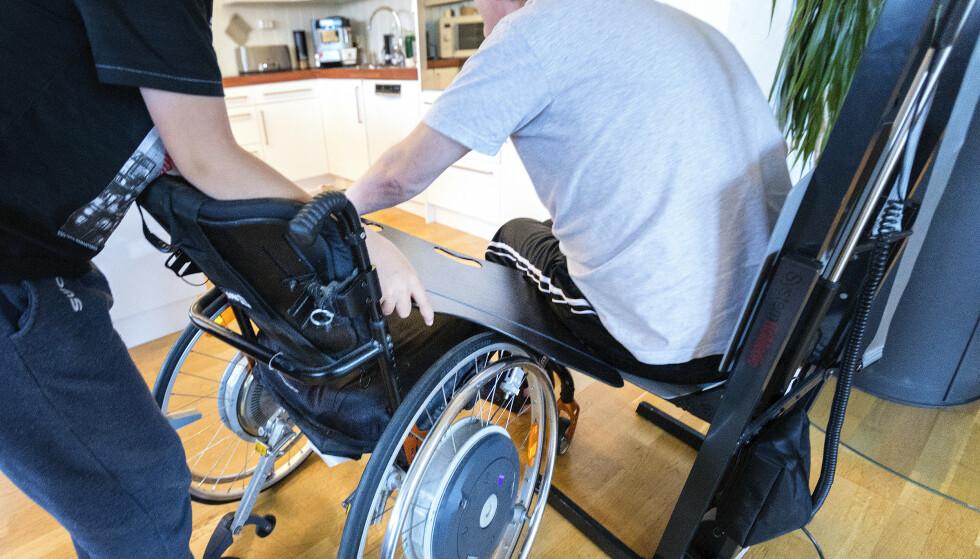 ALS – Amyotrofisk lateral sklerose – er en sykdom som fører til muskelsvinn fordi nervecellene som sender signaler fra hjernen til musklene, blir ødelagt. ALS rammer rundt 150 mennesker i Norge årlig. Illustrasjonsfoto: Gorm Kallestad / NTB scanpix
