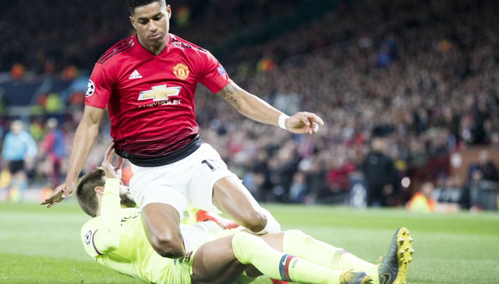 Marcus Rashford blir i Manchester United. Foto: Terje Pedersen / NTB scanpix