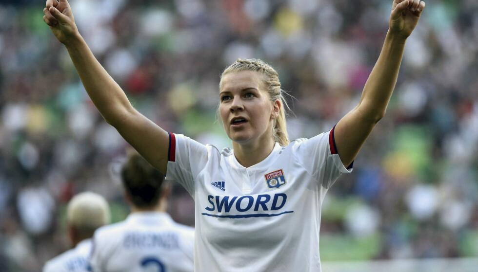Ada Hegerberg har ikke lyst til å returnere til det norske landslaget. Foto: Balazs Czagny / AP / NTB scanpix